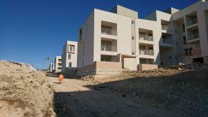 Social housing Matera, work in progress